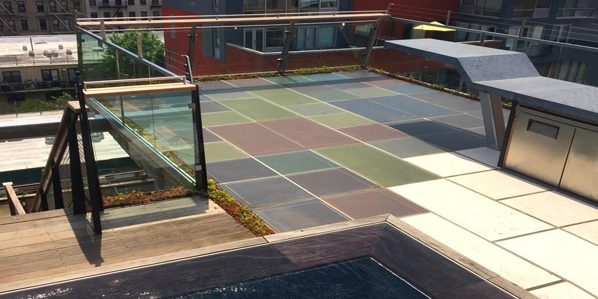 manhattan penthouse photovoltaic floor onyx solar