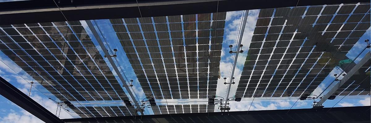 photovoltaic cells canopy
