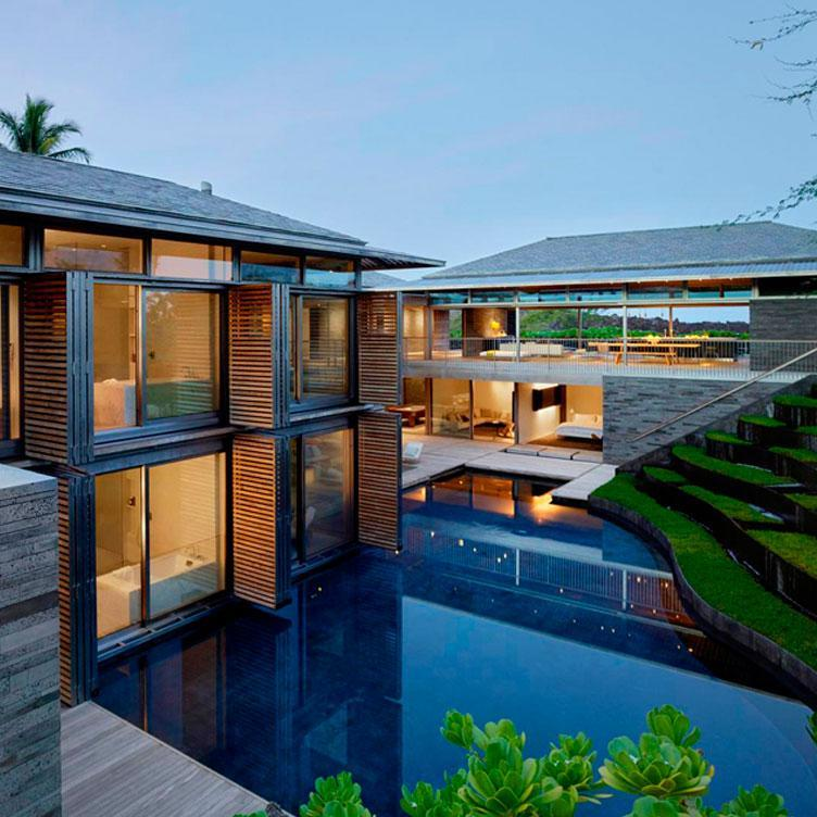 PHOTOVOLTAIC CANOPY - HAWAII PRIVATE RESIDENCE
