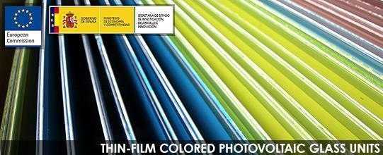 thin-film-colored-photovoltaic-glass-units
