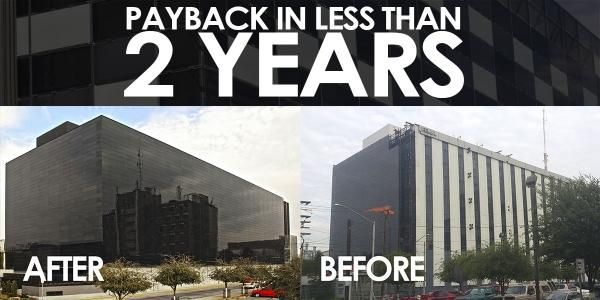 Payback Solar Glass for construction